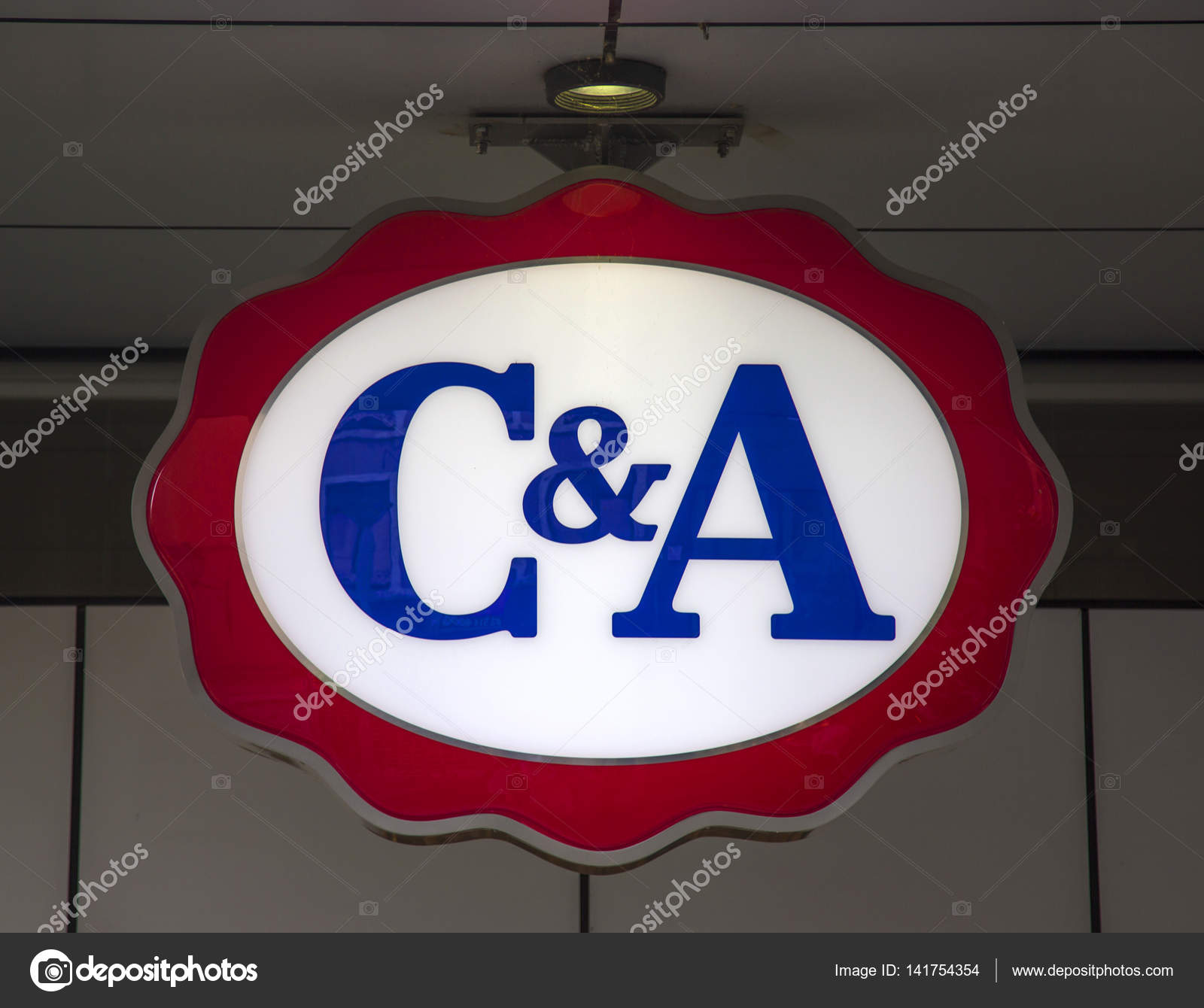 Logo Of The C A Store Stock Editorial Photo C Boggy22 141754354