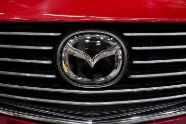 Mazda car sign