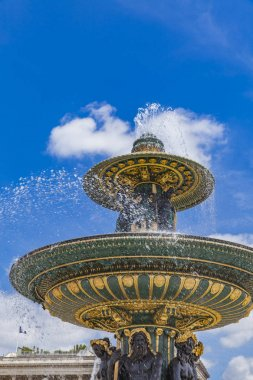 Fontaine des Fleuves in Paris