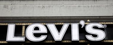 Levi's store sign