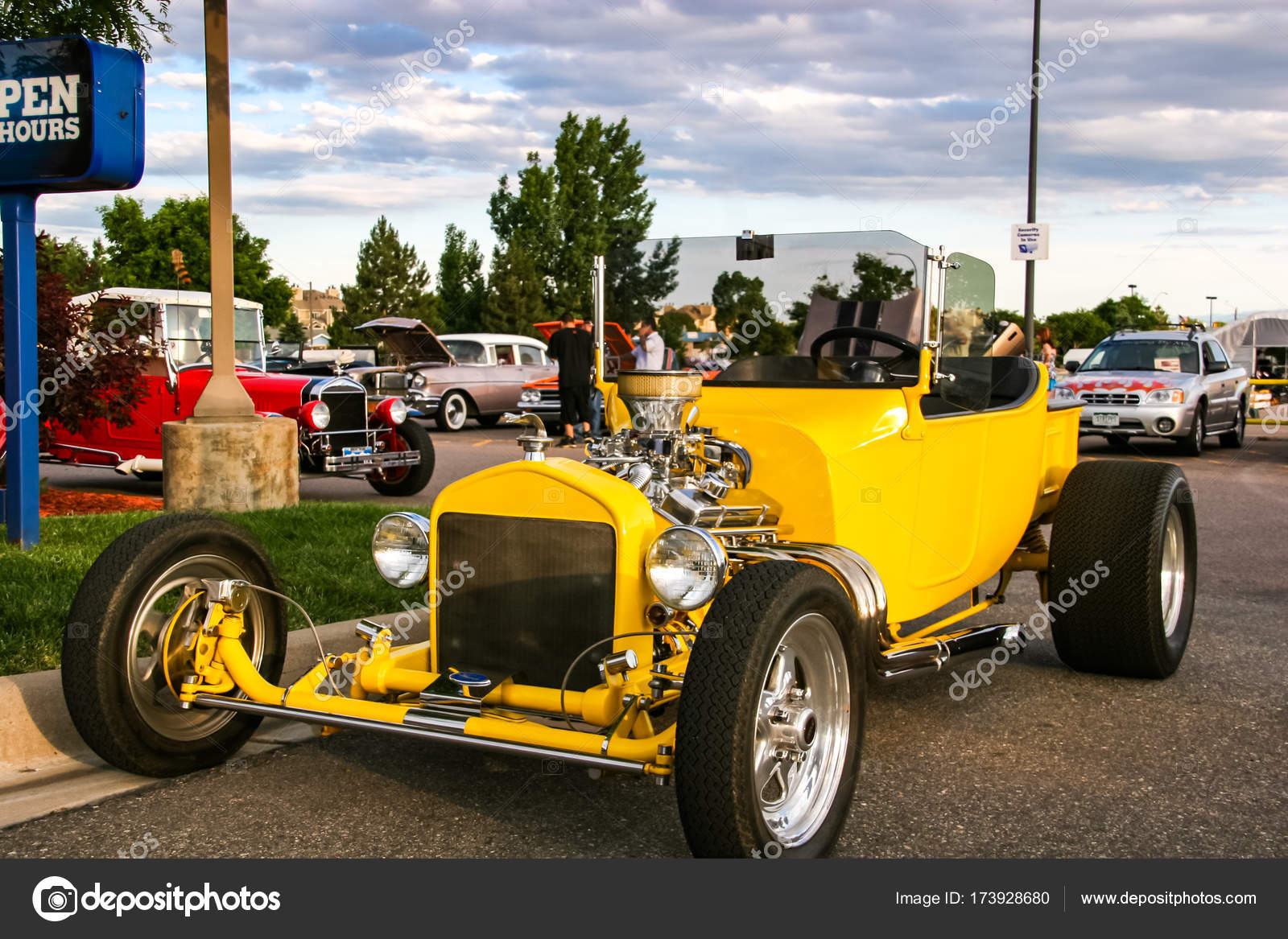 Burger King Classic Car show in Denver – Stock Editorial Photo ...