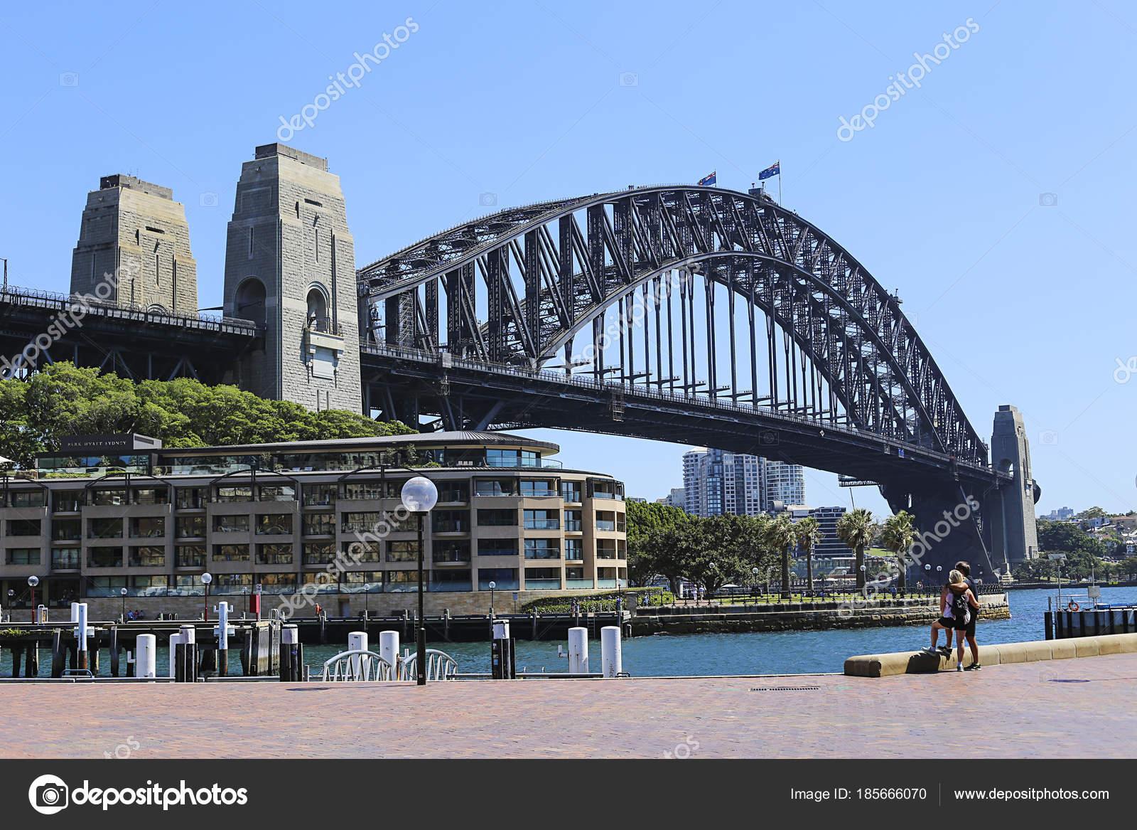 Sydney Australia February 2015 View Hotel Park Hyatt Sydney Hotel