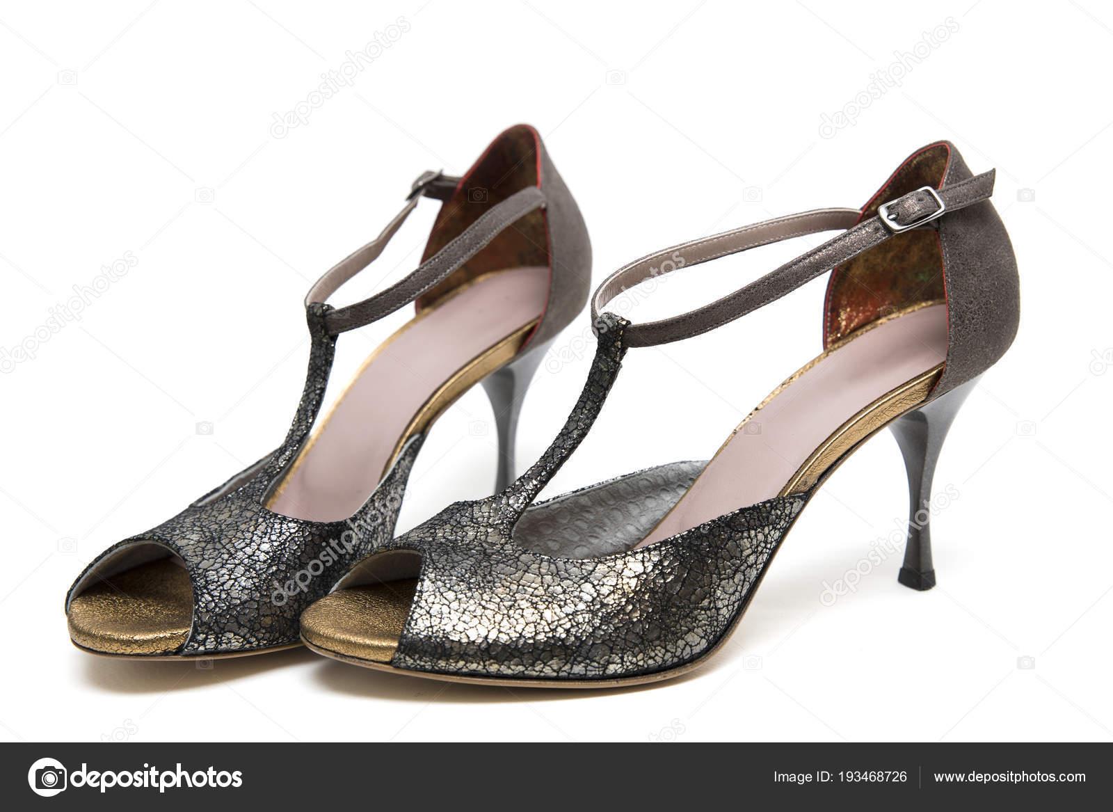 Tango Boggy22 Sur Fond Chaussures Femme Blanc Isolés Photographie — wy1dyAqBgx