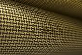 Fotografia Closeup dettaglio dello sfondo in fibra di carbonio
