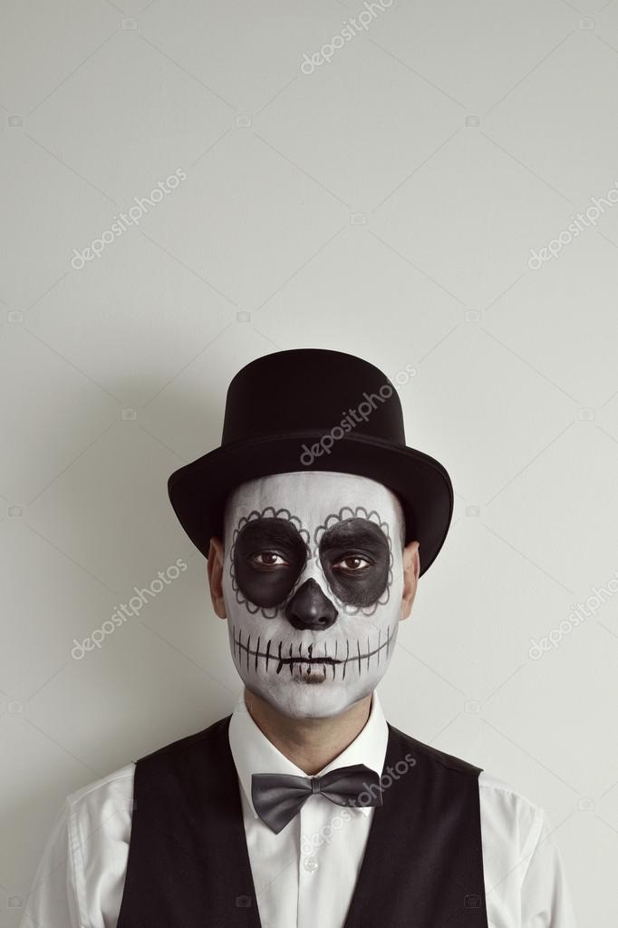 Disfraz completo Calavera Mexicana para chico