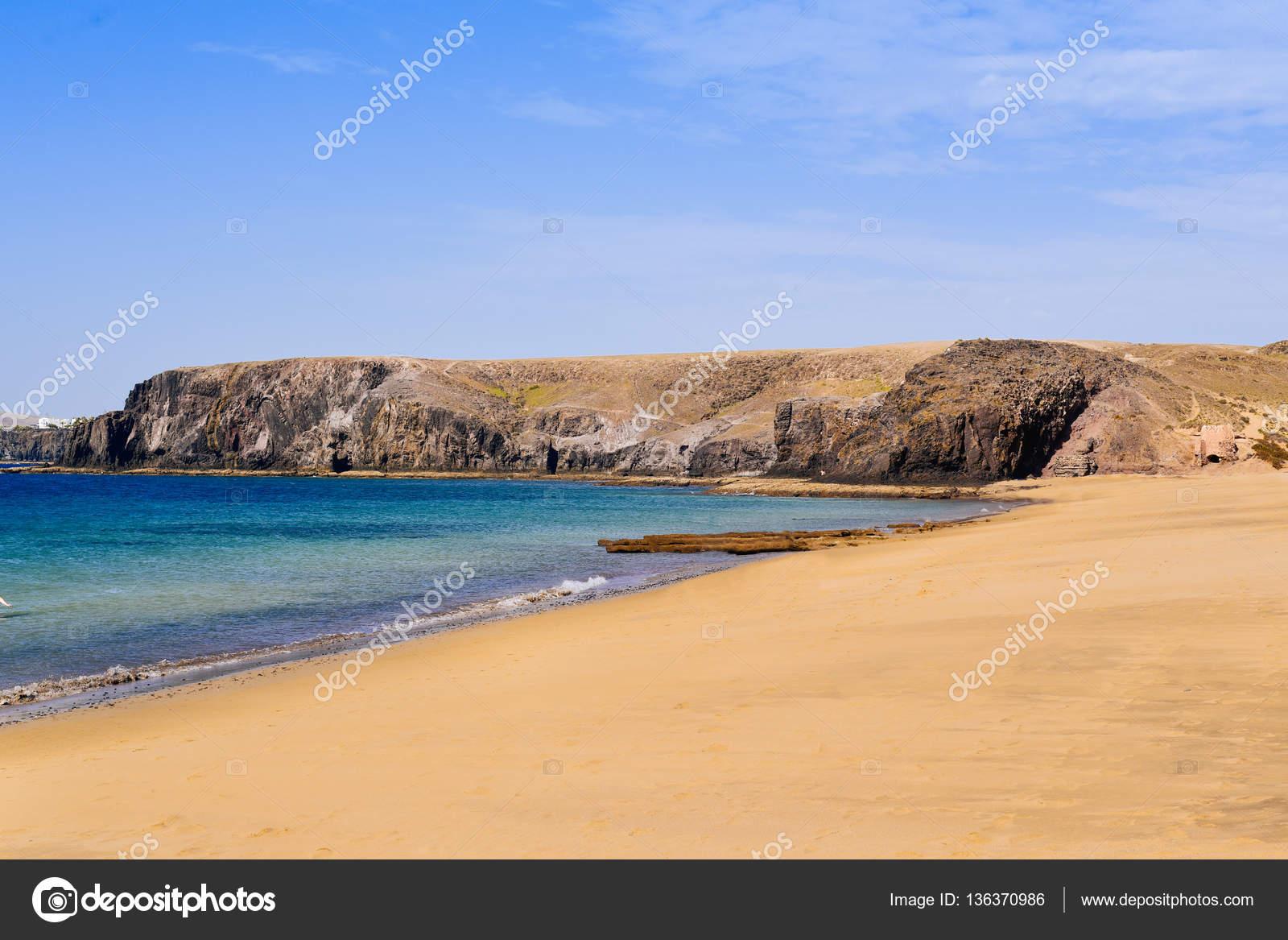 fotos playas lanzarote espana