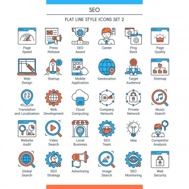 seo icons set 2