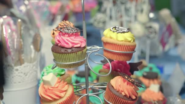 Cake Handmade Different Shapes and Colors. Sweets Made With Quality Products
