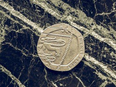 Vintage Lirası para