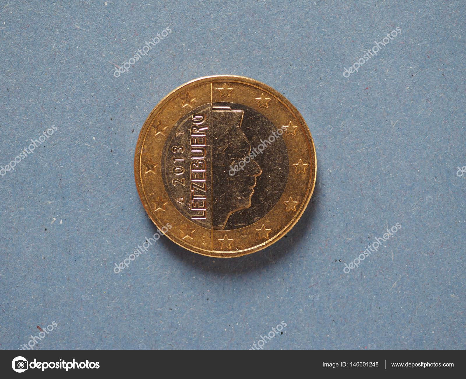 1 ユーロ硬貨、欧州連合、ルクセ...