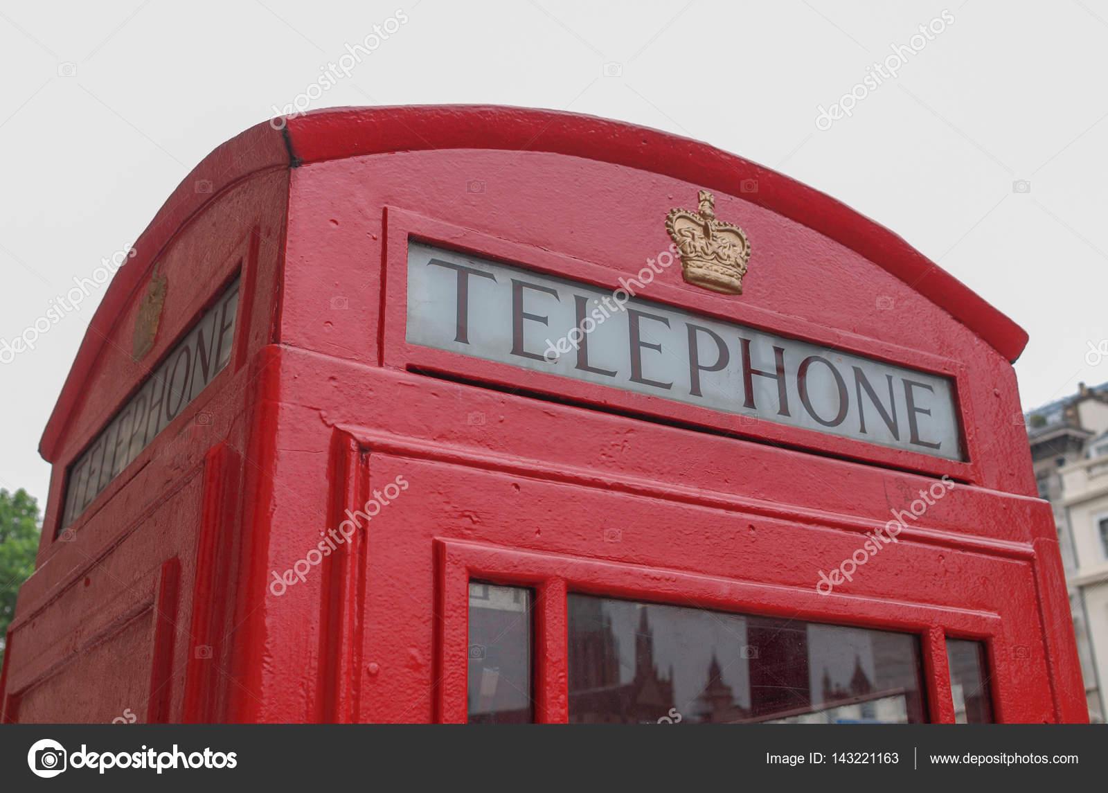 Foto Cabina Telefonica Di Londra : Cabina telefonica rossa di londra fotografie stock freeimages