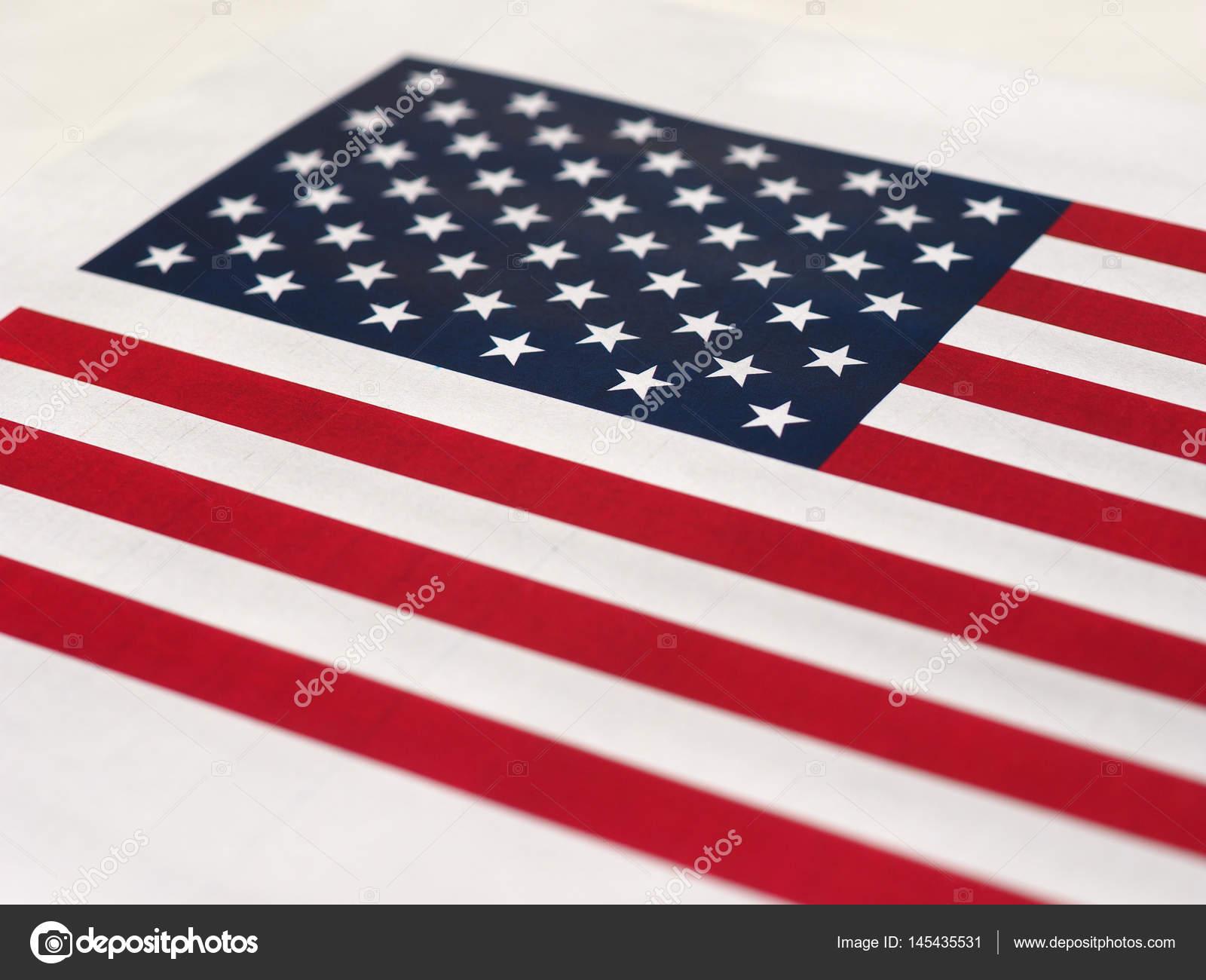 Amerikanische Flagge der Vereinigten Staaten von Amerika — Stockfoto ...