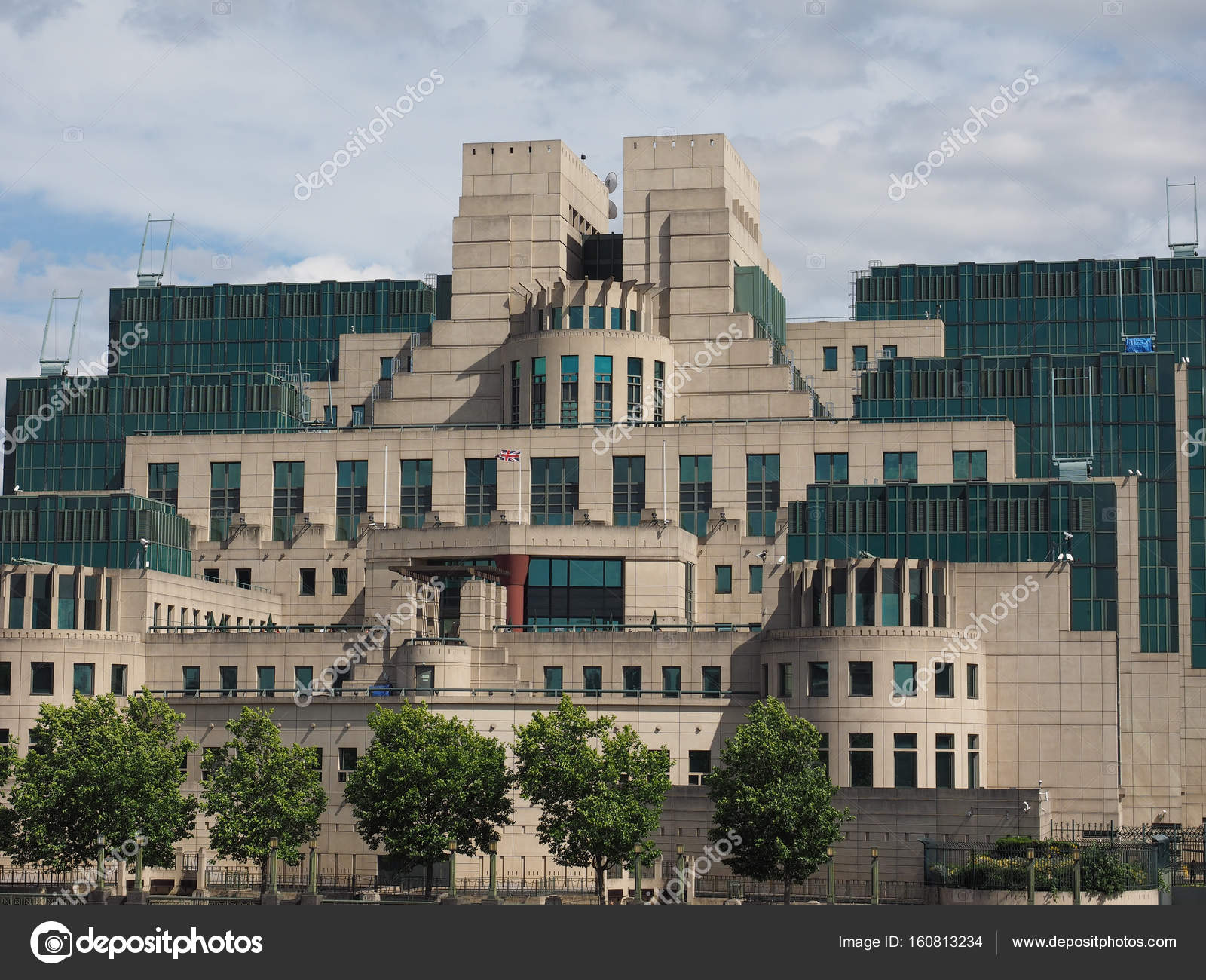 Britse Geheime Dienst In Londen Stockfoto Claudiodivizia 160813234