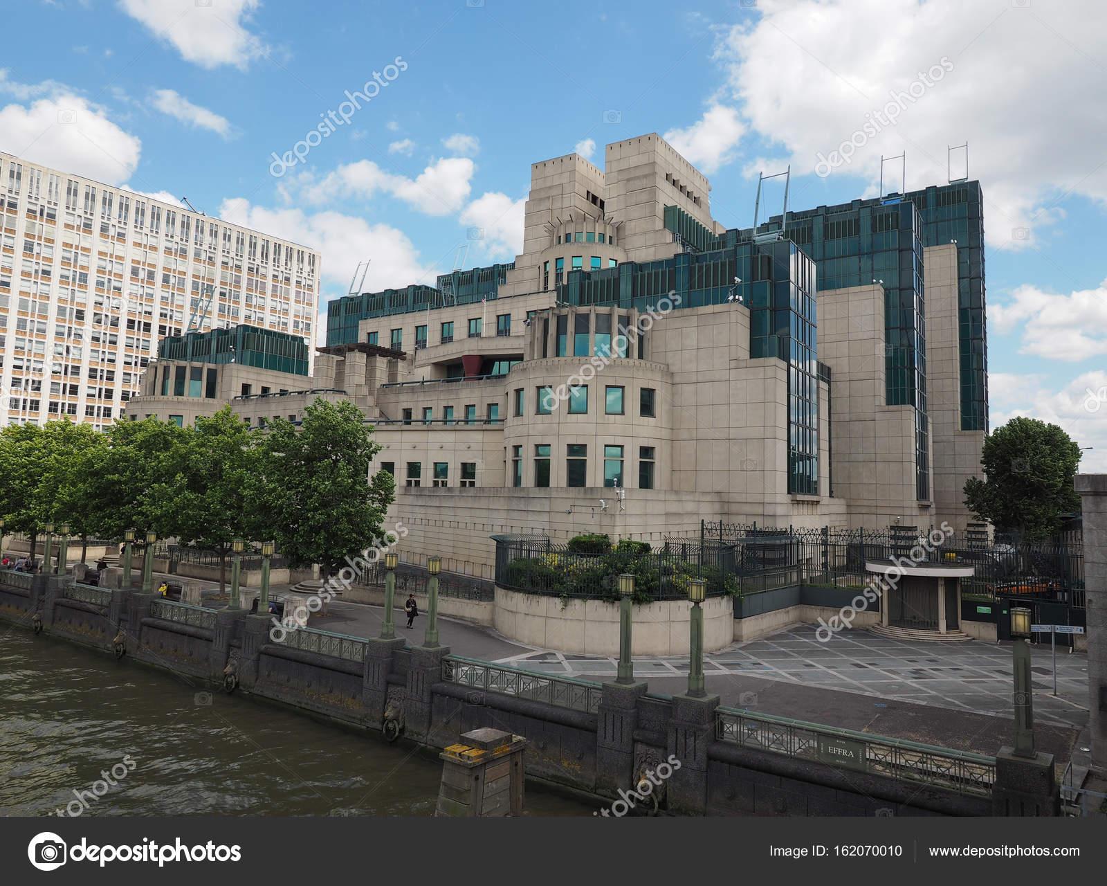 Britse Geheime Dienst In Londen Redactionele Stockfoto