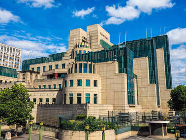 British Secret Service in London (hdr)