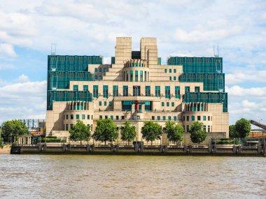 British Secret Service in London, hdr