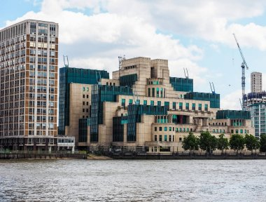 British Secret Service in London, hdr