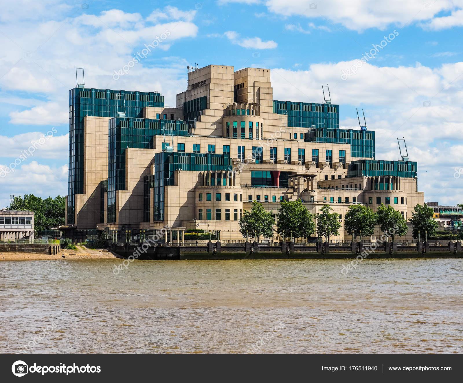 Britse Geheime Dienst In Londen Hdr Redactionele Stockfoto
