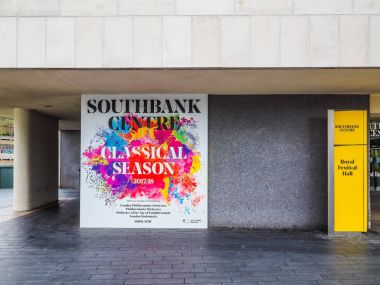 Classical Season at Southbank centre in London, hdr