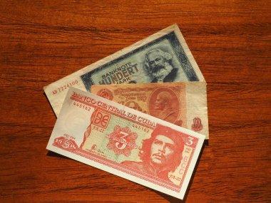 vintage money of communist countries