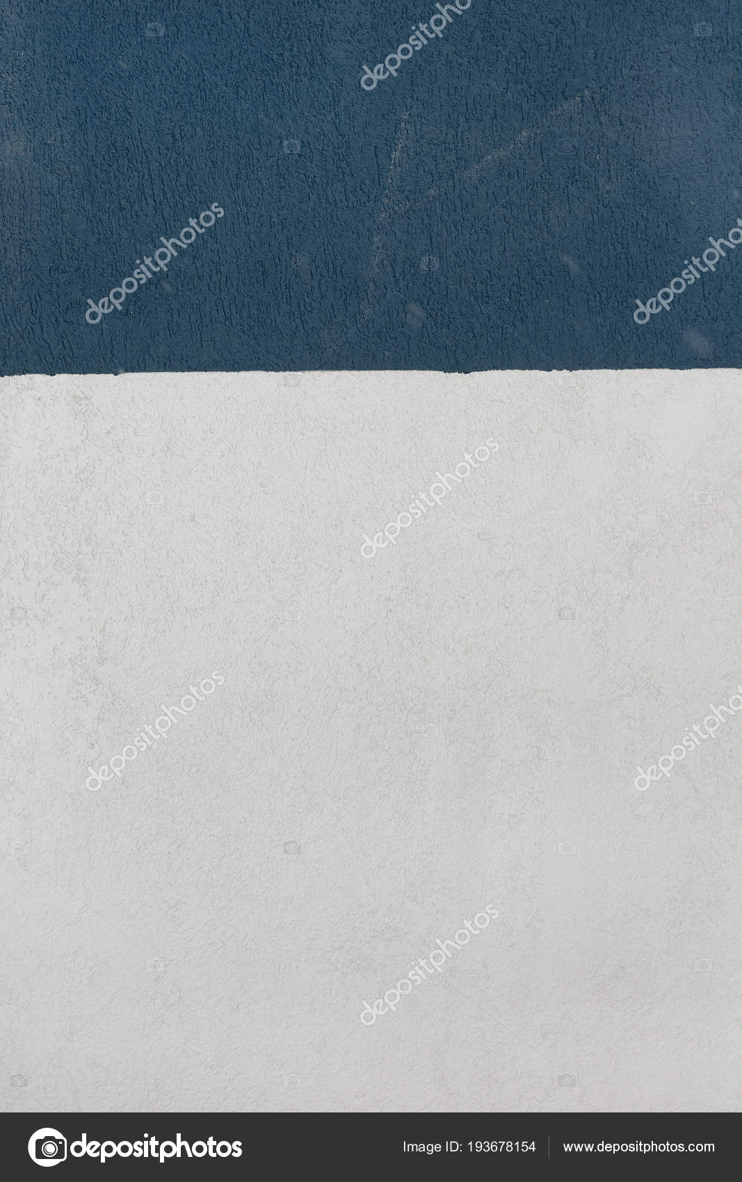 A Wall With A Plaster Texture Painted In Two Colors White And Blue Color Beautiful Background Stock Photo Image By C Switch 84 193678154