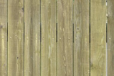 Old wooden fence from faded boards. Background for layouts with wood texture