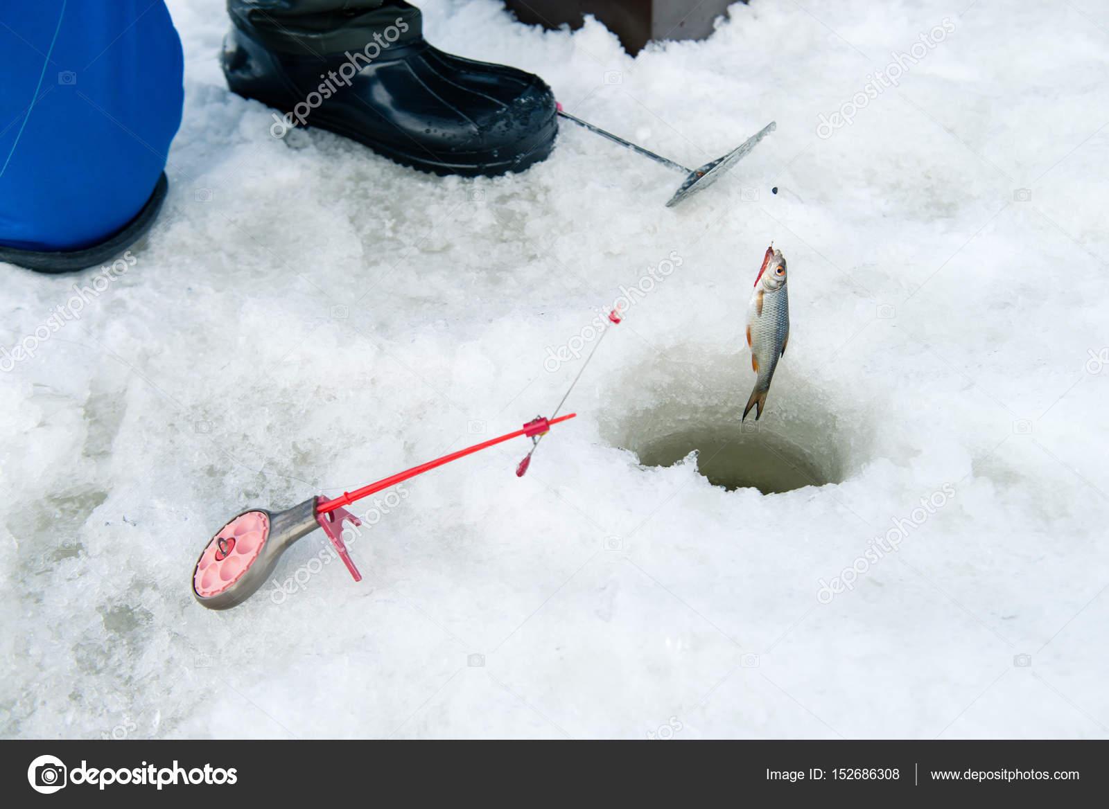 Fishing rod for winter fishing 82