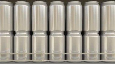 A Tampa Da Lata De Alumínio Da Bebida Carbonatada é Coberta De
