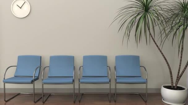 Ufficio K : Sala di attesa all ufficio di avvocato concetto di pratica di