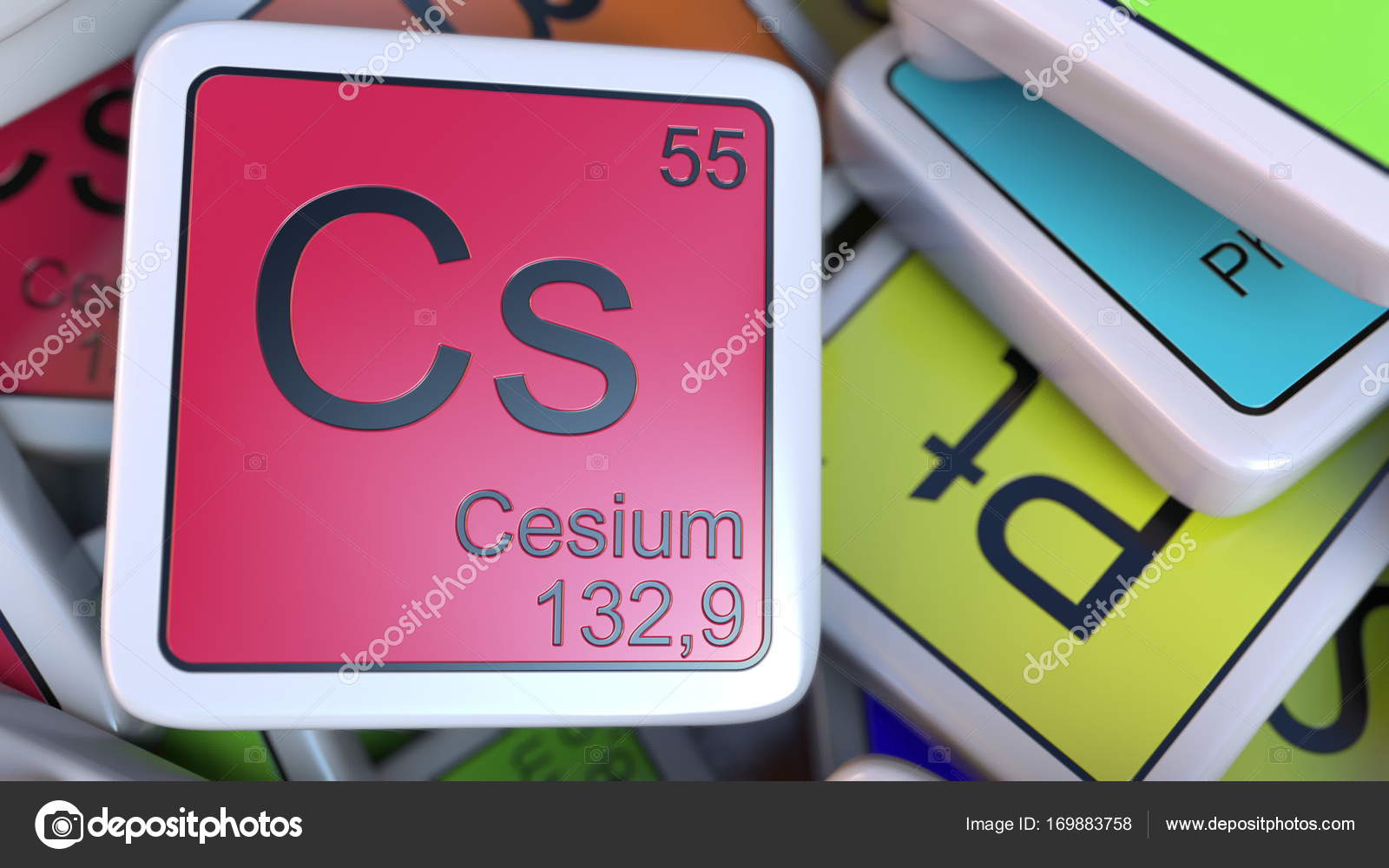 Cesio cs bloque la pila de la tabla peridica de los bloques de cesio cs bloque la pila de la tabla peridica de los bloques de elementos qumicos urtaz Gallery