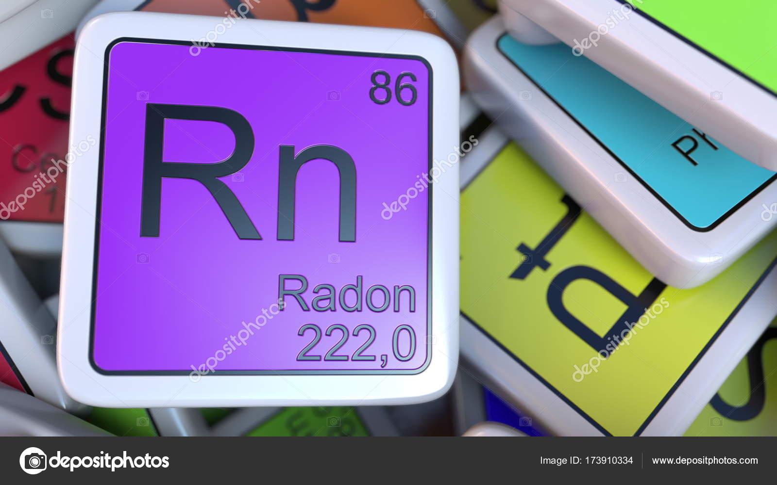 Bloque de rn radn en la pila de la tabla peridica de los bloques bloque de rn radn en la pila de la tabla peridica de los bloques de elementos urtaz Gallery