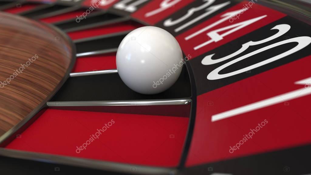 Roulette kugel