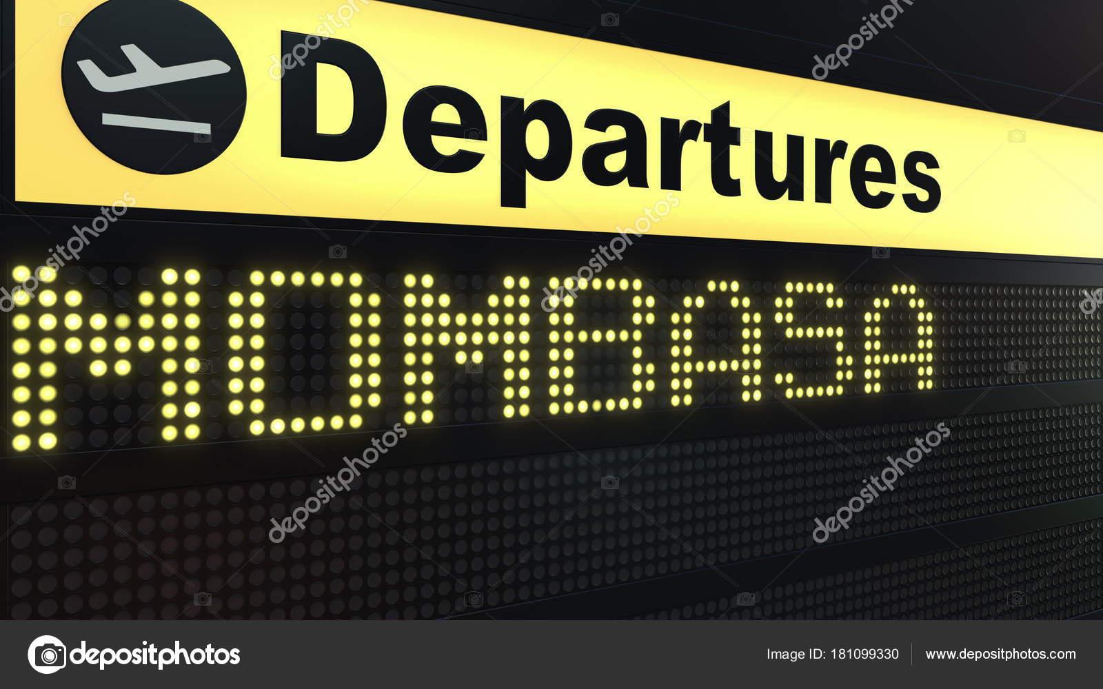 Aeroporto Kenya : Volo per mombasa su scheda di partenze dellaeroporto internazionale