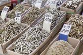 Photo Dried fish market in South Korea