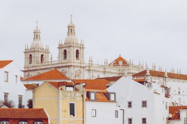 Church of St. Vicent in Lisbon, Portugal.