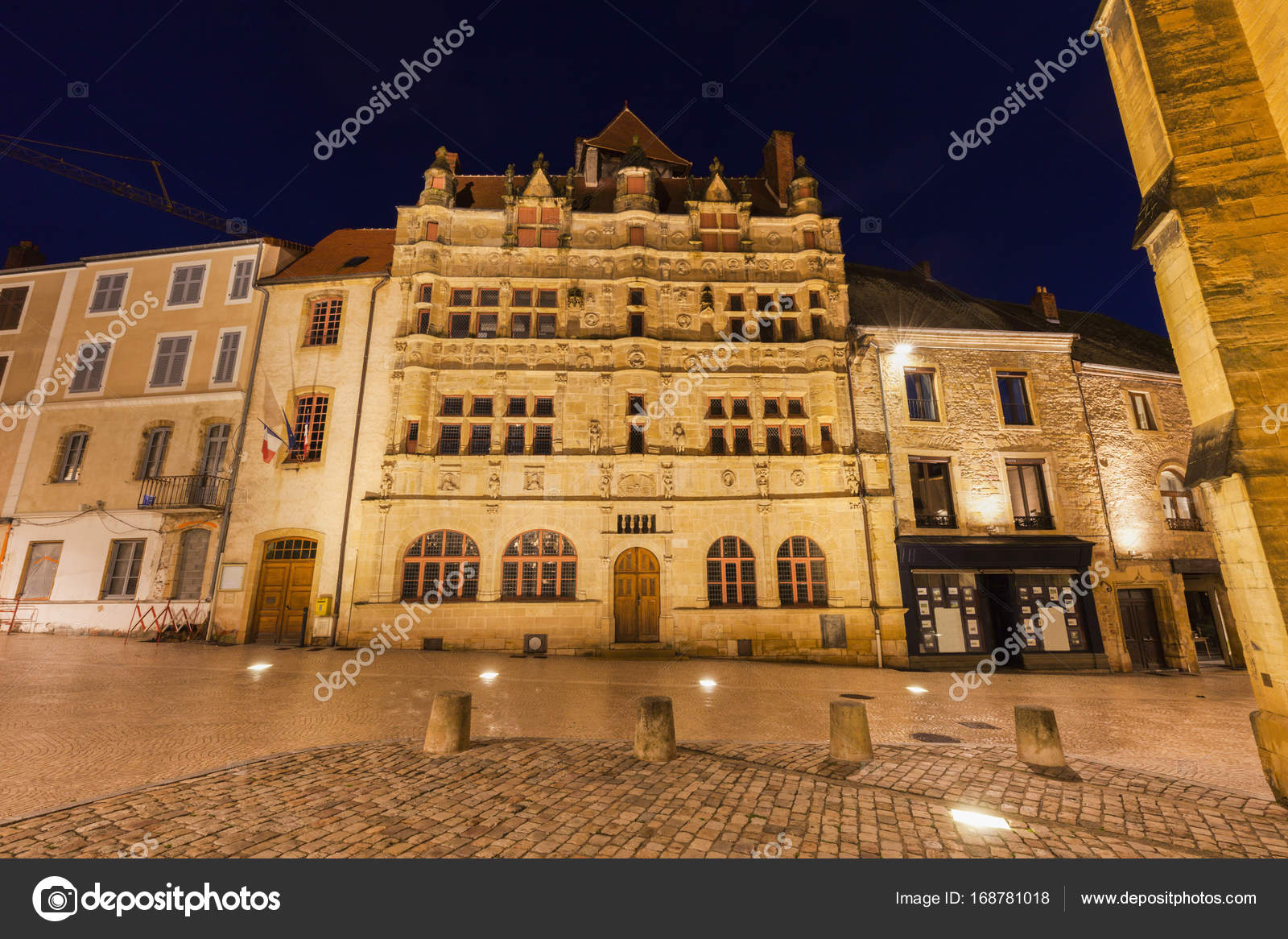 Architecte Paray Le Monial paray-le-monial city hall — stock photo © benkrut #168781018