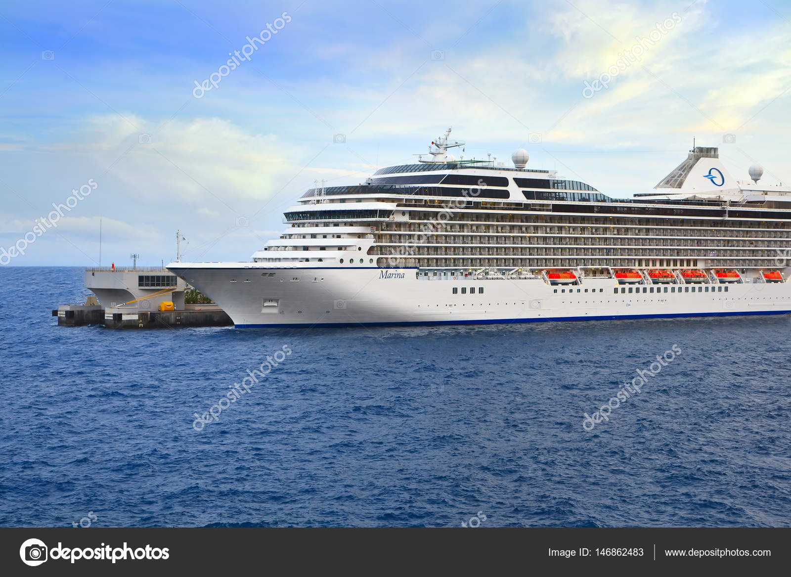 Cruise Ship In Port Of Monte Carlo Stock Editorial Photo - Cruise ships in monaco today