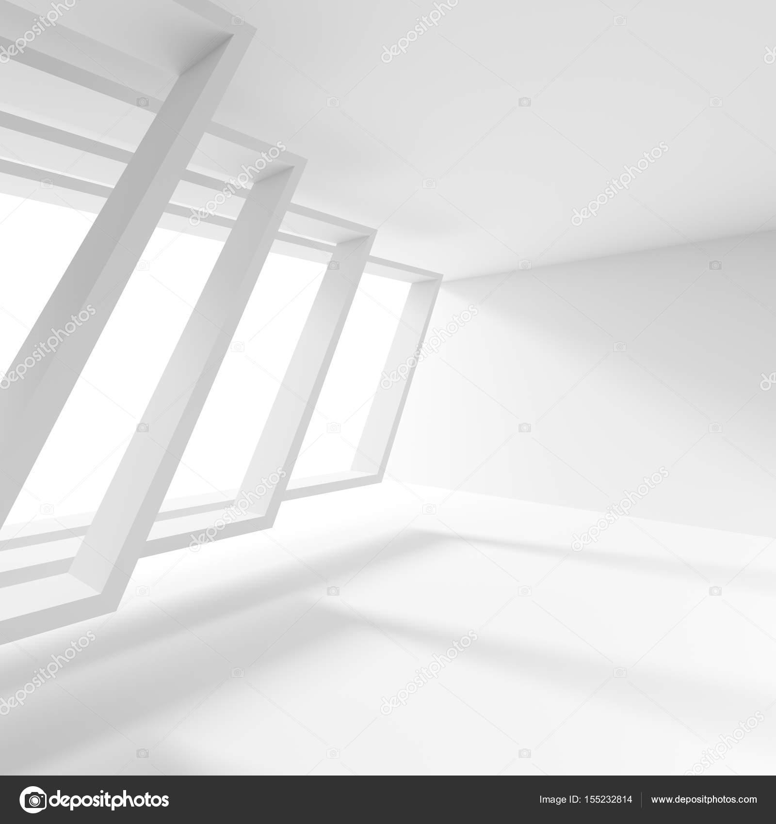 minimal office. Minimal Office Interior Design. Creative Industrial Concept. 3d \u2014 Stock Photo
