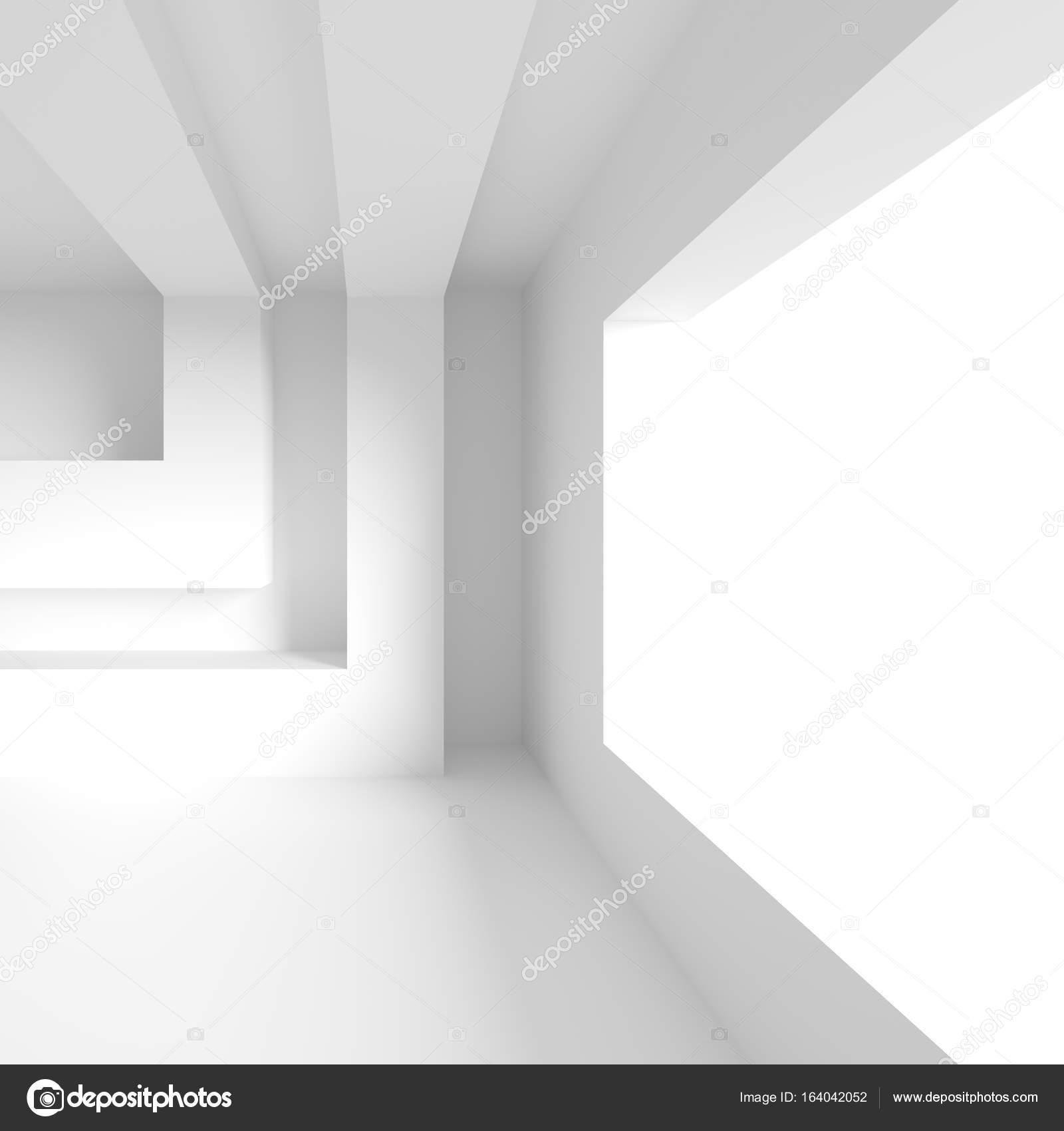 Moderne Büro-Innenarchitektur. Weiße Architektur Wallpaper. Roo ...