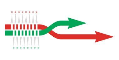 Graph of development process