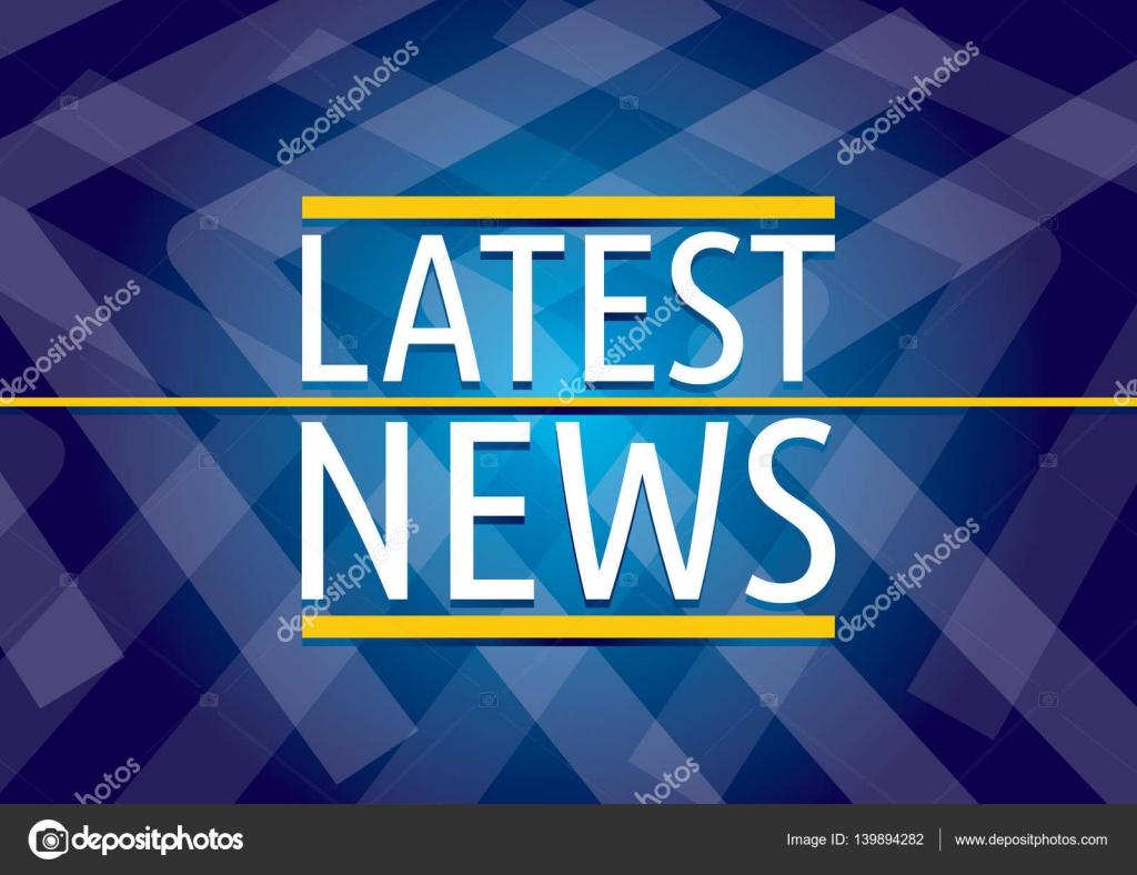 Neueste Nachrichten-Tv-Vorlage — Stockvektor © eltoro69 #139894282
