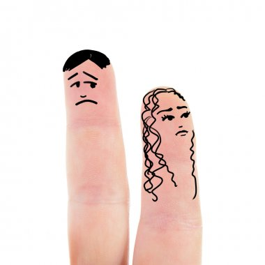 fingers like woman and man