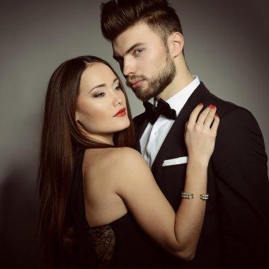 Sexy passion couple
