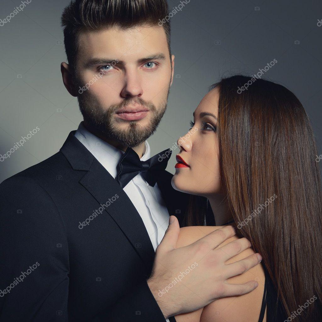 Femme Homme Sexy femme et homme sexy — photographie khorzhevska © #128002204