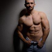 muž s dokonalým tělem