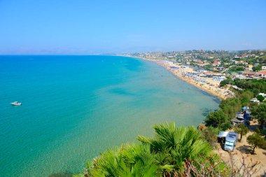 Sea and beach landscape