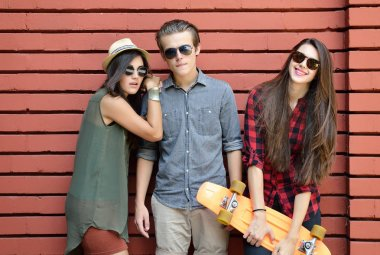 friends with penny board