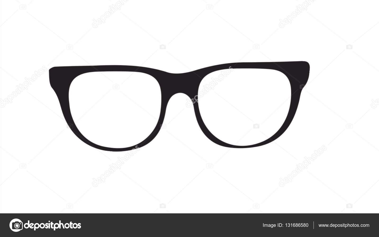 d54e6c19773b86 Gläser in schwarz und weiß. Silhouette für Websites und Blogs.  Illustrationskunst und design — Foto von retrotehnica.gmail.com