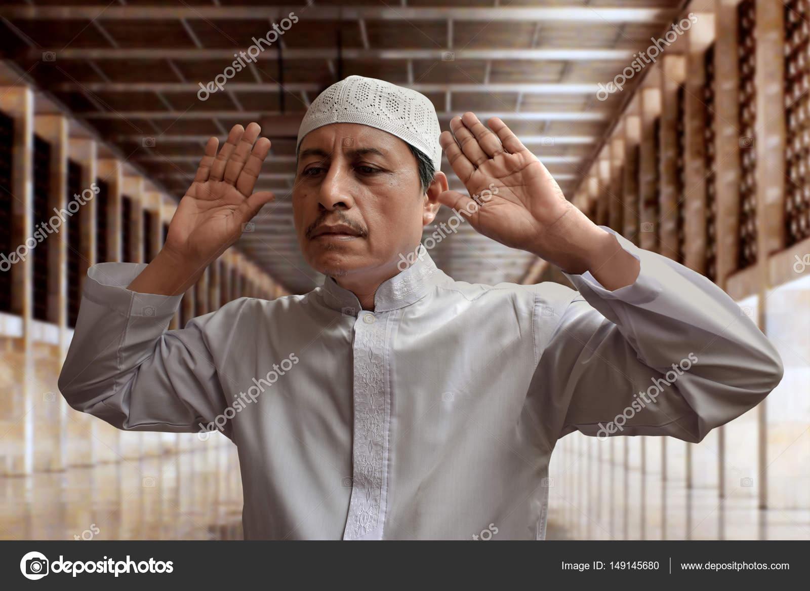 old muslim man