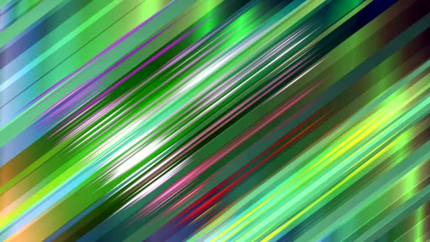 dance of color lines on the screen